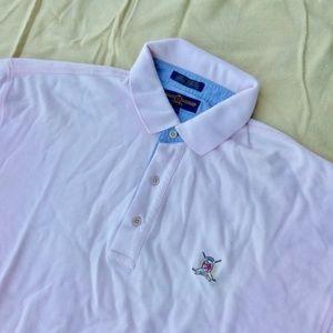 Tommy Hilfiger Baby Pink Men Golf Shirt Souvenir